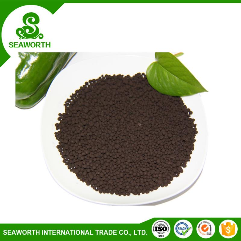 Professional satisfactory application effect humic acid granule( no n-p-k added) with great price