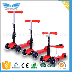 Aluminium PIPE Scooter 3 Wheel, PU 3 Wheel Scooter Kids ,Cheap Kids Scooter