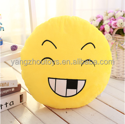 Cute Cheap lovely Emoticon Stuffed Emoji Soft Cushion Plush Emoji Pillows