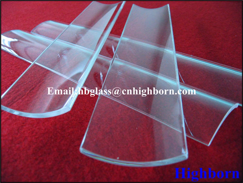 transparent half quartz tube supplier