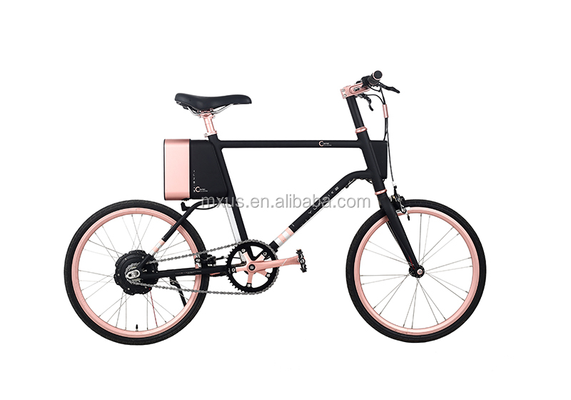 Chinese 180W 20 Inch YUN Smart Lightweight Adult Electric Bike