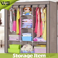 Fabric cloth assemble portable fabric wardrobe for dog clothes