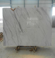 China Manufacturer white marble price floor tiles and marbles Italy volakas white marble