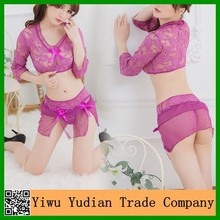 Wholesale Transparent Ladies Sexy Bedroom Night Wear