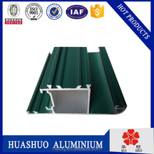 powder coating sliding aluminium window and door sample in China factory