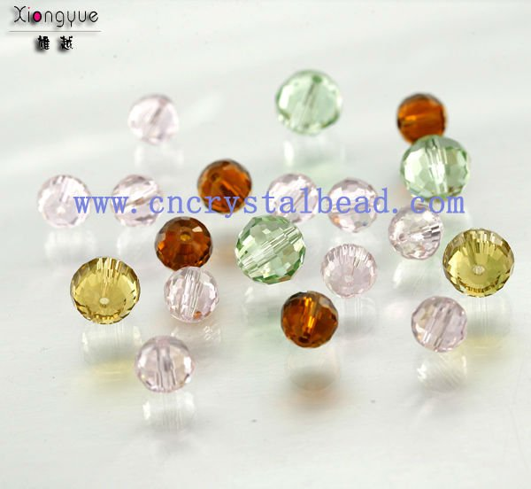 wholesale 96 Faceted Round Fashion Crystal Glass Bead For Jewelry DIY