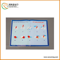 Transparent and Printed Plastic roll for book cover