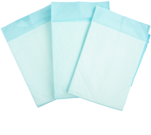 Hygienic Disposable 90*60cm Blue Underpad for Women