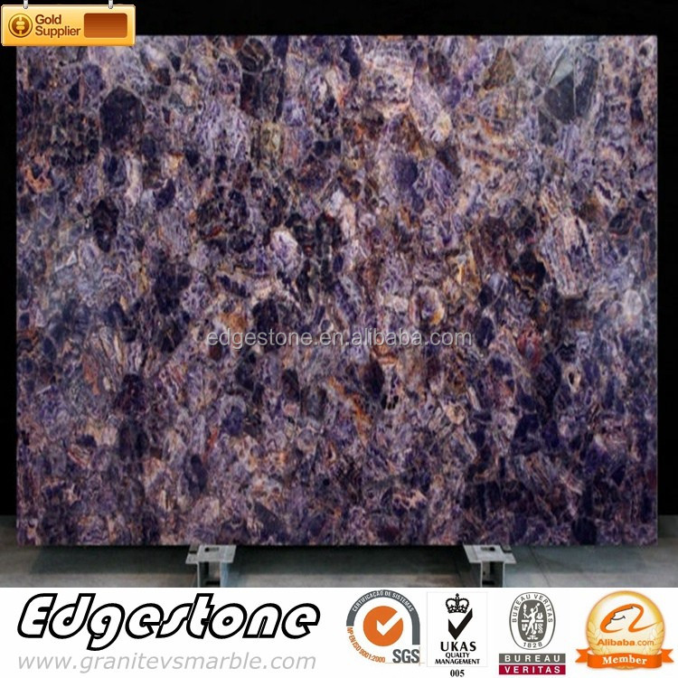 Luxurious Amethyst Stone Slabs