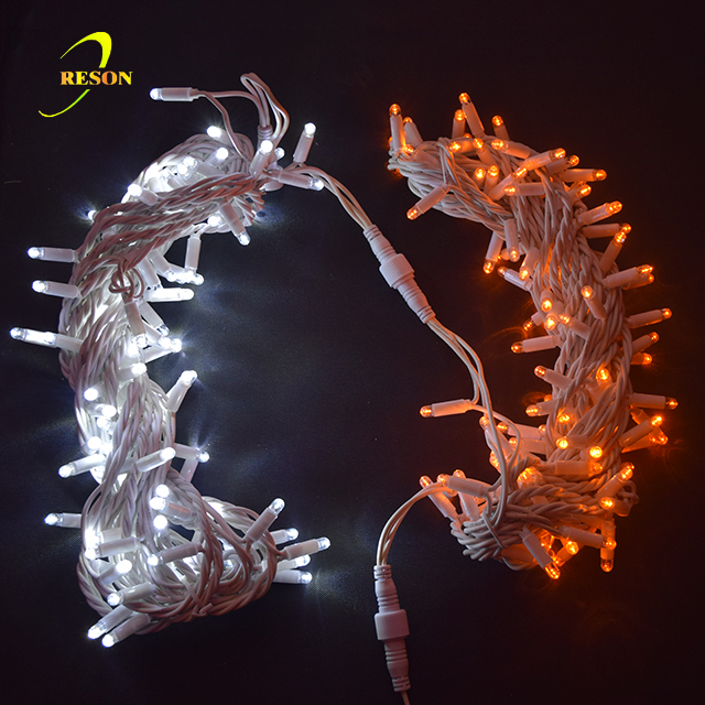 LED Christmas holiday light IP65 Waterproof Rubber LED Connectable String Light