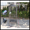 Metal wire mesh bird breeding cage