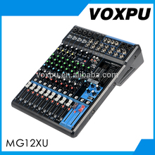 Enping VOXPU Professional Audio mixer MG12XU 12 channel mixing console sound mixer dj