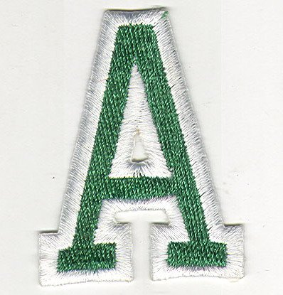 Iron on Letters Embroidery,Embroidery Letter