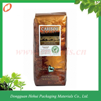 plastic coffee packing bag wholesale
