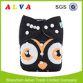 Alvababy New Owl Design China Cloth Diapers Baby Reusable Diapers