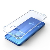 S8 Case Clear Crystal Soft Bumper Case Air Cushion TPU Shockproof Case for Samsung Galaxy S8 Plus s9 s9 plus note 8 s7 edge