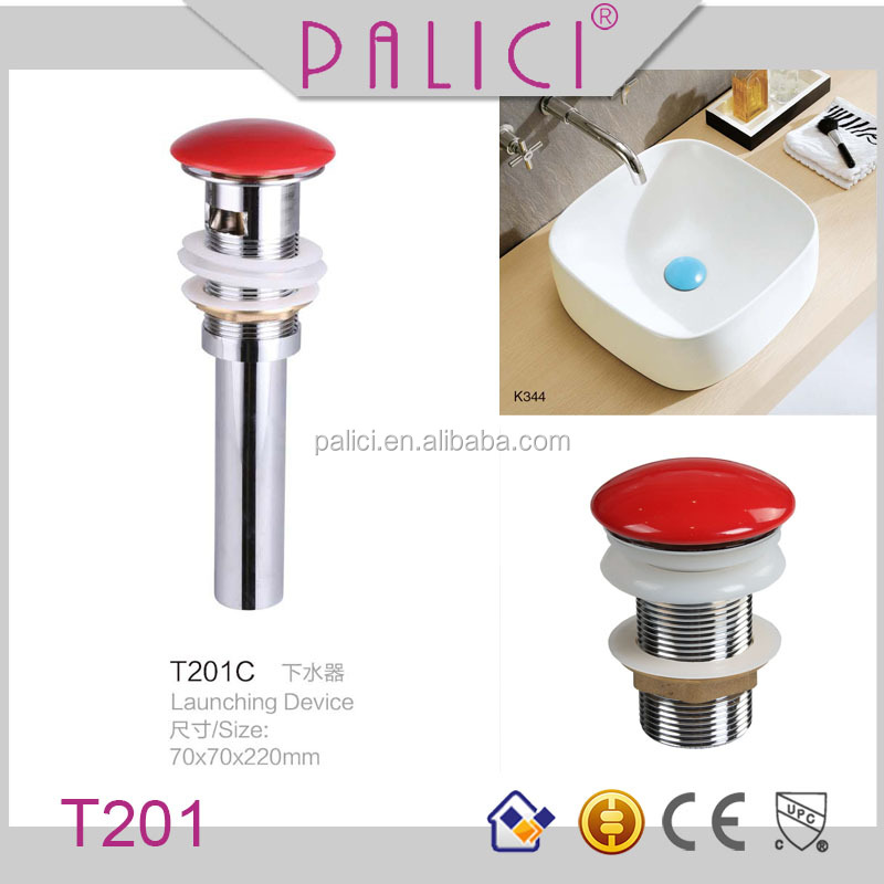 Trade Assurance supplier colorful ceramic sink drain