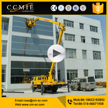 Chinese cheap Hydraulic Insulated Truck Mounted Aerial Work Platform price