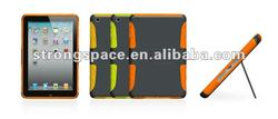 Dual Layer Kickstand Armored Hybrid Case for iPad Mini