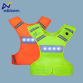 Wildsaver Hot sale LED Flashing safety Reflective Jogging vest Running Vest