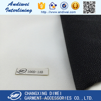 100% polyester fusible fleece interlining fabric for auto roof lining