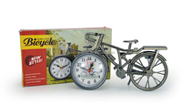 (bicycle) classic design antique desk clock, table desk clock, antique desk clock for decoration