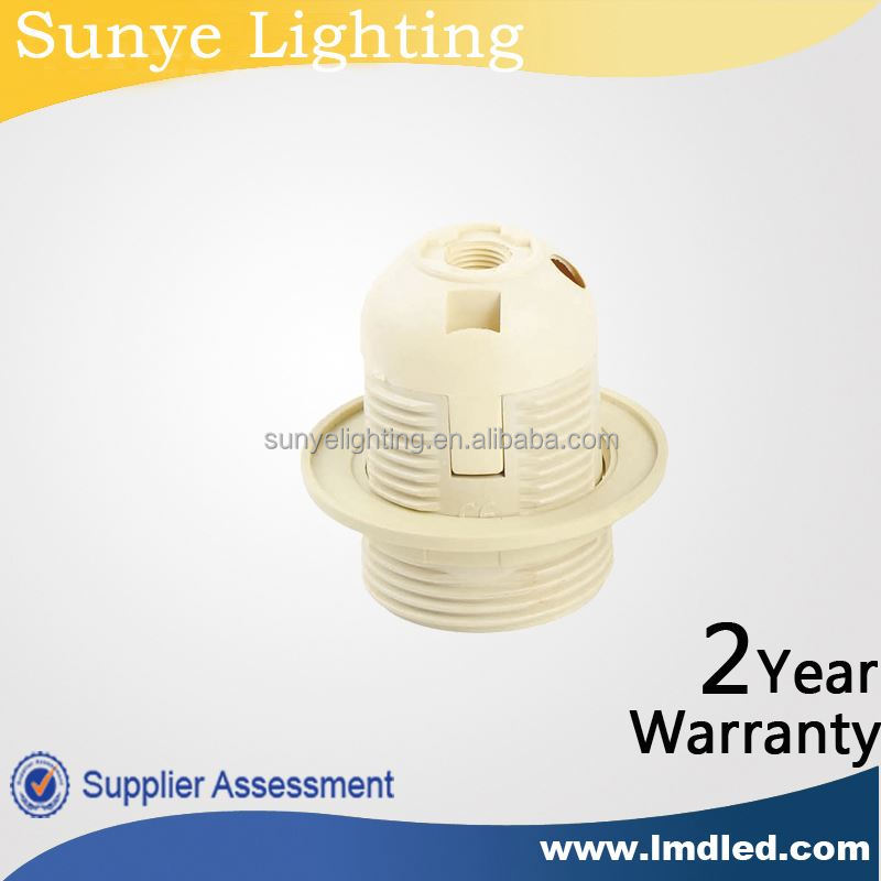 CE, VDE,SAA, RoHS, E27 Light Socket ,Bulb holder,e 27 screw lamp holder