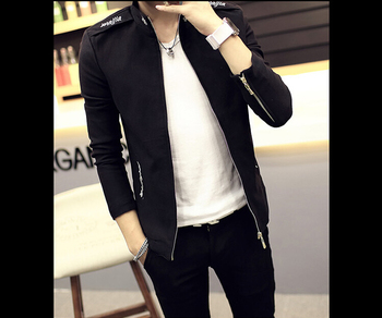27Gentlemen's long sleeve BUTTON thickens maintains warmth jacket for WINTER season,fom Guangzhou