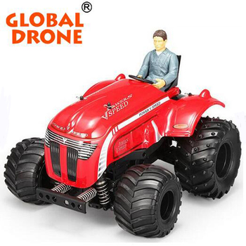 2018 Hot Sale WlToys P949 1:10 Electric RC Tractor Remote Control Electric Two-Drive Tractor With Multi-Function Stunt Buggy car