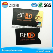 Plastic Magnetic PVC card Holder plastic sleeve for cards
