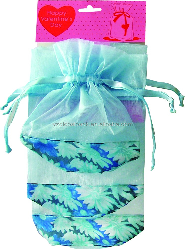Global Square/Round Bottom Custom-made Sheer Gift Bags