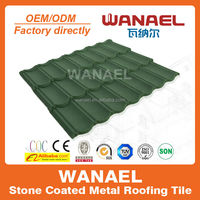 color green metalic cupper shingle city production & suppliers house roof tile