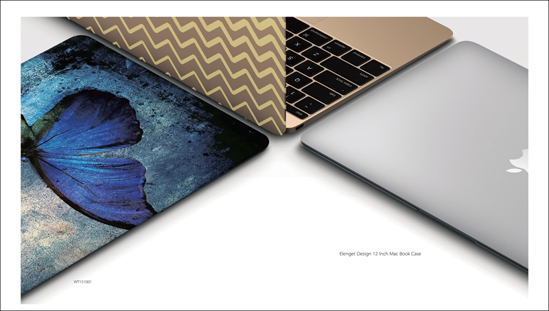 C&T Tribal Pattern Rubber Coated Hard Shell Case Cover for MacBook Air 13 inch