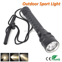 IP68 Waterproof Flashlight 50M Underwater High Power LED Diving Torch