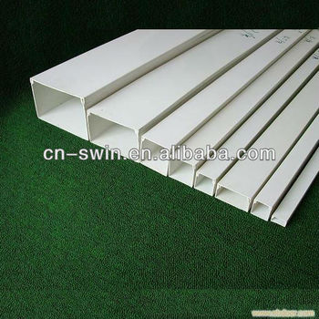 16 years Experiences Decorative PVC Trunking/ PVC Cable Trunking size approved by BV