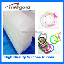 Price of silicone rubber for durable rubber band bracelet making kit