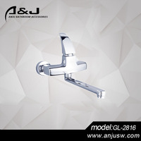Bathroom Deck Mounted Electronic Infrared Automatic Sensor Basin Faucet
