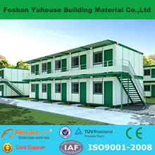 Eps sandwich panel prefab flatpack container homes with factory price