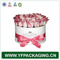 Flower Hat Boxes, Cardboard Flower Rose Boxes In Round