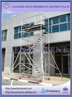 second hand china aluminium scaffolding for sale