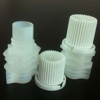 8.6mm Plastic spout with cap for jelly bag producers