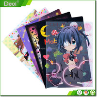 A3 A4 A5 Clear Custom Plastic Ducoment File L Folder