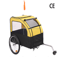 Factory Directly Pet Bike Trailer Dog Cat Bicycle Pram Stroller pet stroller Jogger Foldable(PT005)