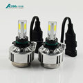 9006 all on one COB LED headlight conversion kit A336 auto LED bulb 36W 3300LM car headlight CE.ROSH,DOT approved