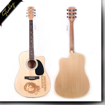 Finlay FS-4101KC 41 inch china factory price unique design unusual electric acoustic guitar