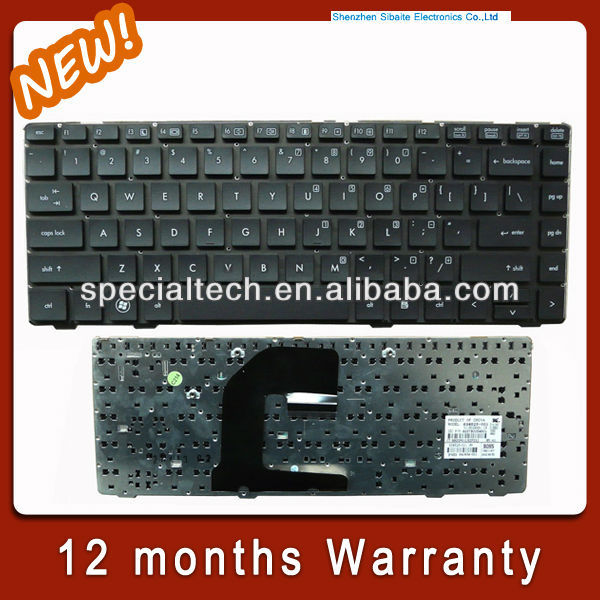 high quality laptop Keyboard for HP EliteBook 8460p Notebook PC - Removing and Replacing the Keyboard