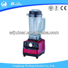 Factory strong body push button electric heavy duty juicer commercial blender