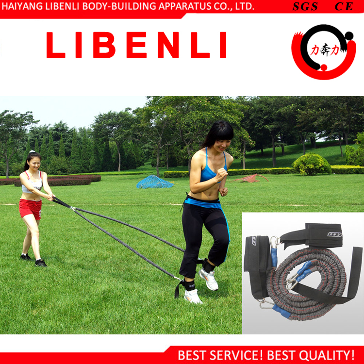 Vertical Jumping Trainer Jump Resistance Bands System