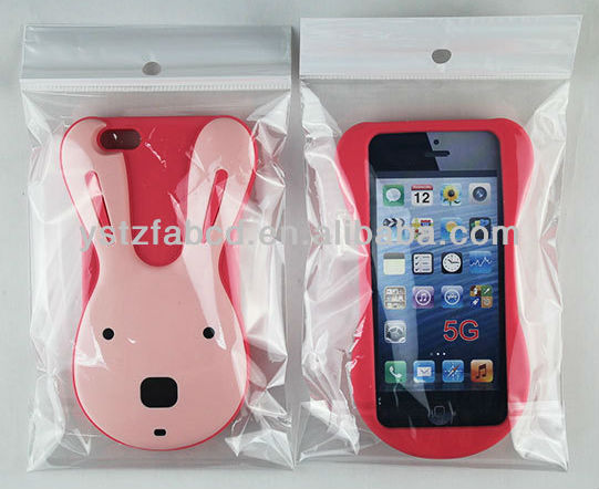 2013 new design cute animal shaped silicone cellphone case for Iphone 4