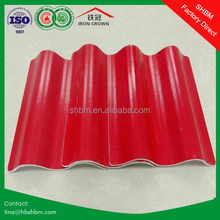 Different types of fire proof earthquake proof wind proof fish scale copper new style of fiberglass insulation roofing tiles